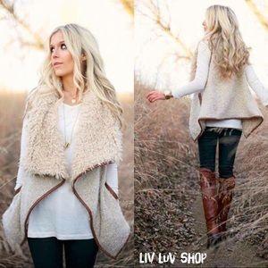 Sherpa / Shearling Vest